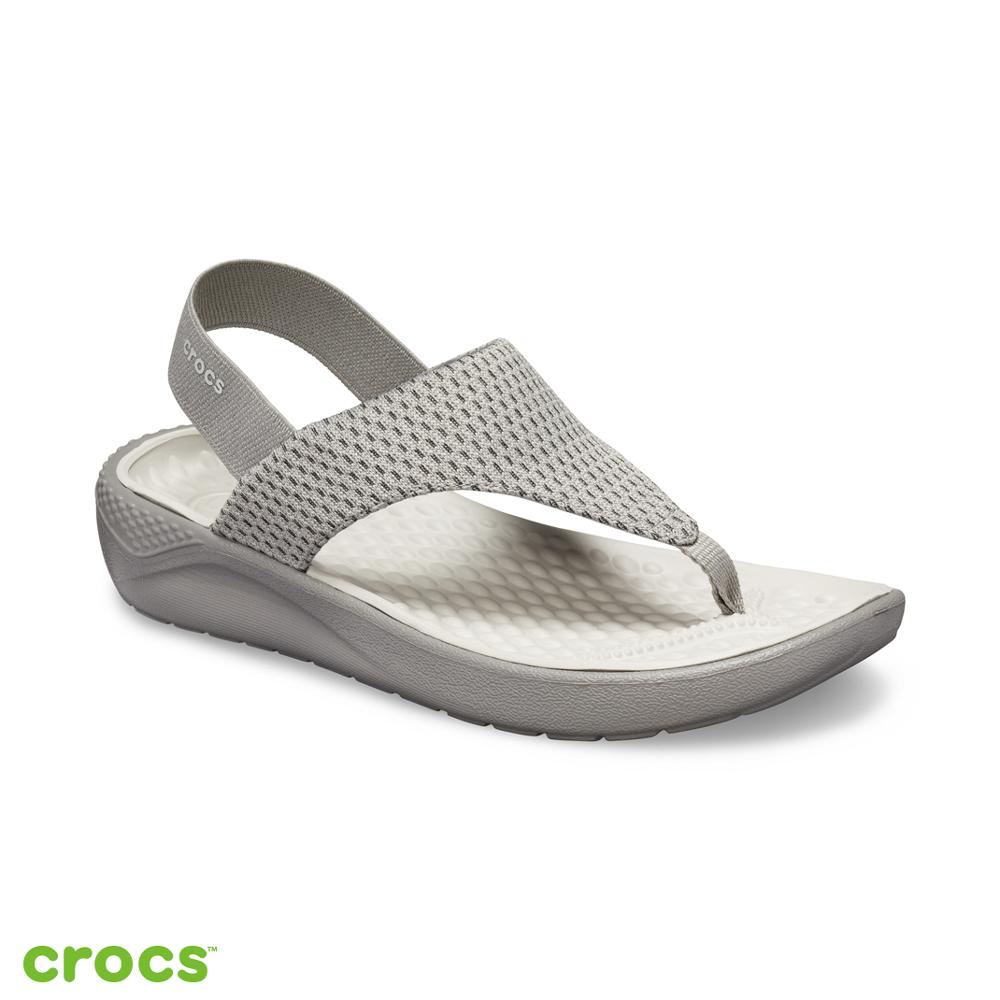 Crocs 卡駱馳 (女鞋) LiteRide人字拖 205477-08D