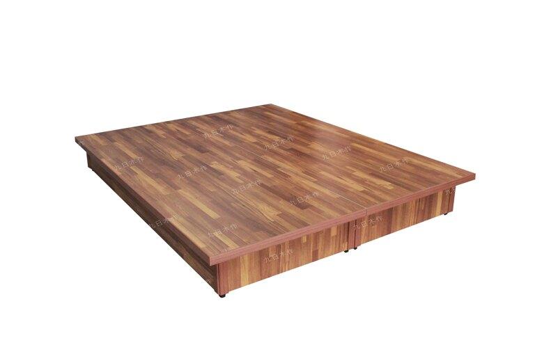 【九日木作】3尺單人台製超厚六分木心板床底/床架
