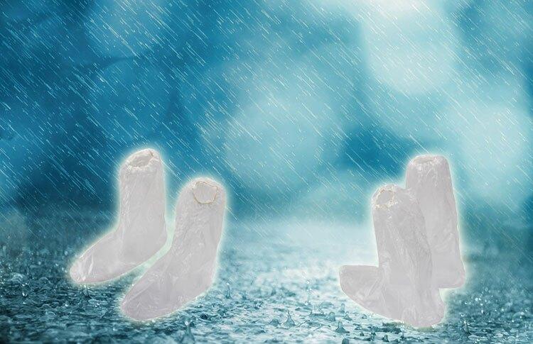 透明通用型雨鞋套 單入 Safetylite