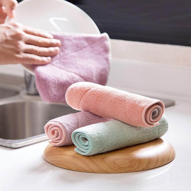 櫻桃雜貨鋪超美吸水加厚洗碗布