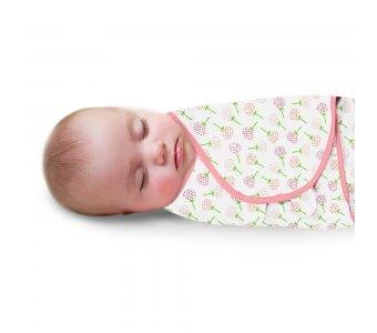 美國【Summer infant】聰明懶人育兒包巾(粉漫花朵) #56646【母親節推薦】