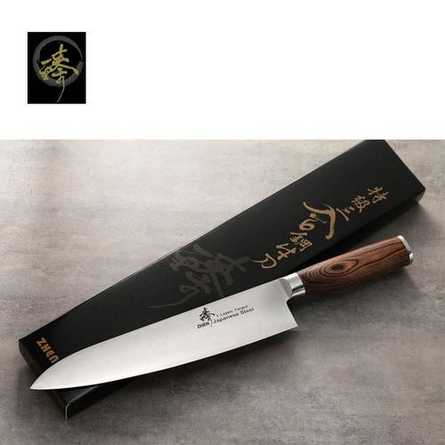 料理刀具  三合鋼系列 / 240mm廚師刀 〔臻〕高級廚具 SC836-2B