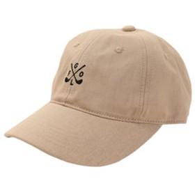 【SALE/送料無料】【Super Sports XEBIO & mall店:帽子】リネン刺繍キャップ GOLF 897PA9ST1742 BEG