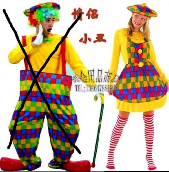 萬聖節小丑女裝化妝舞會成人cos衣服