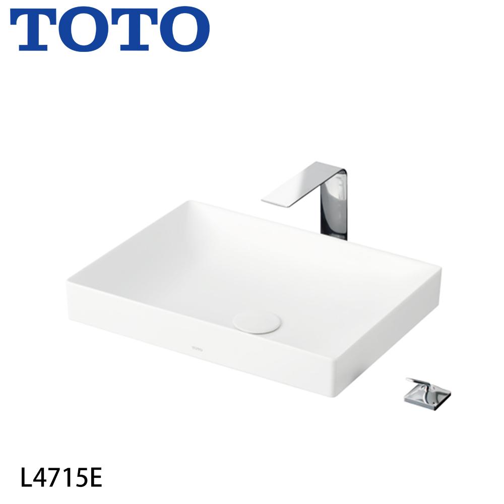 TOTO L4715E 檯面上臉盆(不含龍頭)