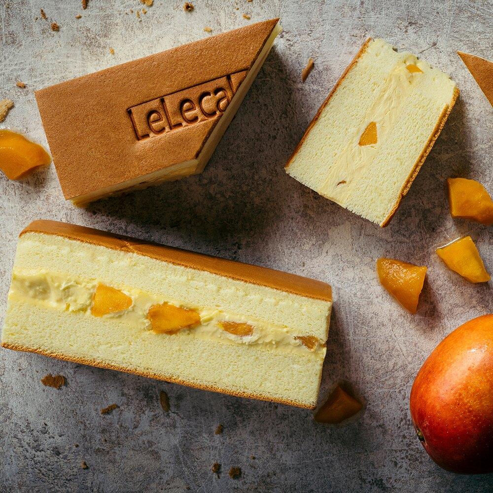 【樂樂芒果牛奶蛋糕】❤夏季限定❤ 芒果與牛奶布蕾餡的最完美搭配,芒果酸甜、牛奶香醇,組成迷人口感,一入口就沉醉其中! 炎炎夏季首選甜點! #彌月蛋糕#下午茶#伴手禮。食品與甜點人氣店家樂樂甜點的熱銷經