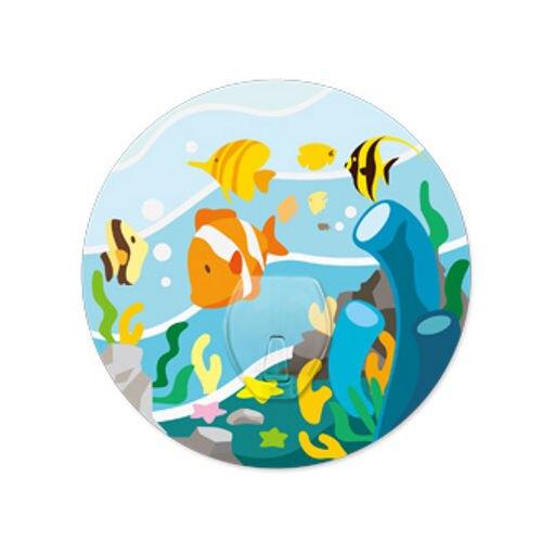 2EASY無痕掛鉤-單掛鉤-海洋世界
