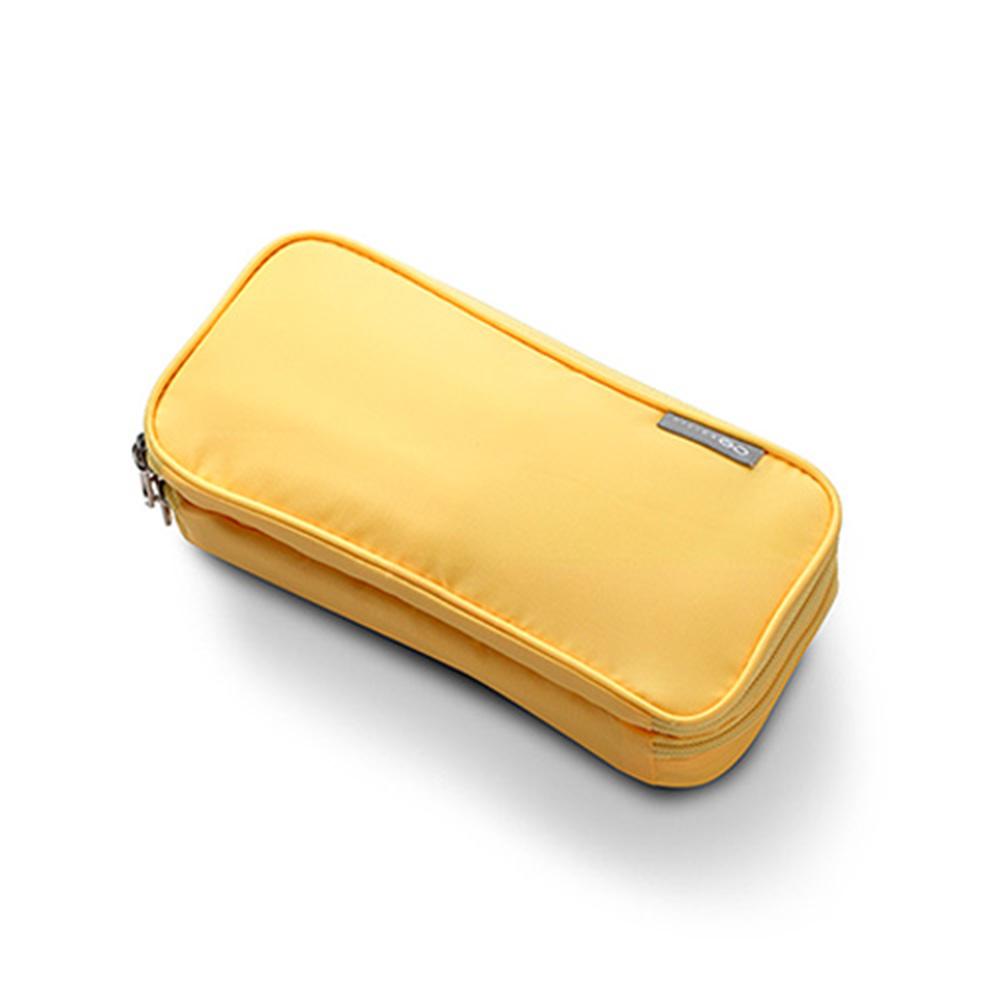 【Design Go】繽紛多功能收納包-黃色 indulgence 寵愛自己