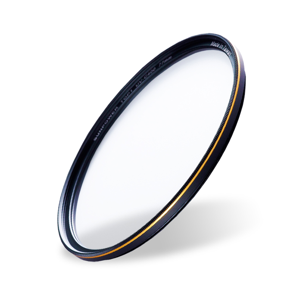 【拭鏡布】SUNPOWER TOP1 UV-C400 Filter 專業保護濾鏡/49mm.