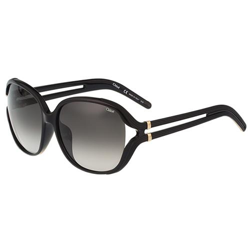 CHLOE太陽眼鏡 氣質簍空(黑色)CE695SA-001