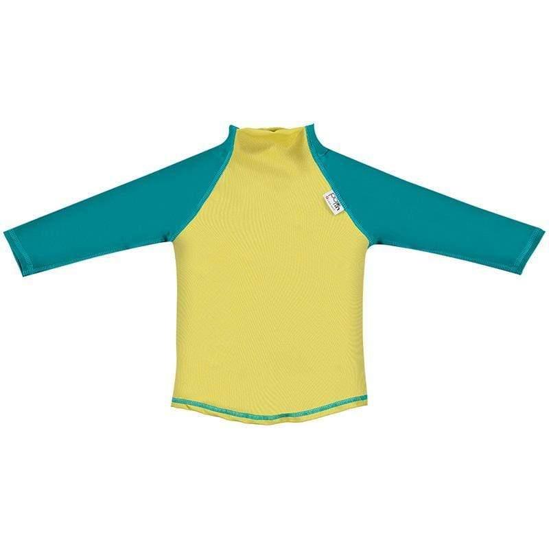 嬰兒長袖泳衣-芥末綠 XL