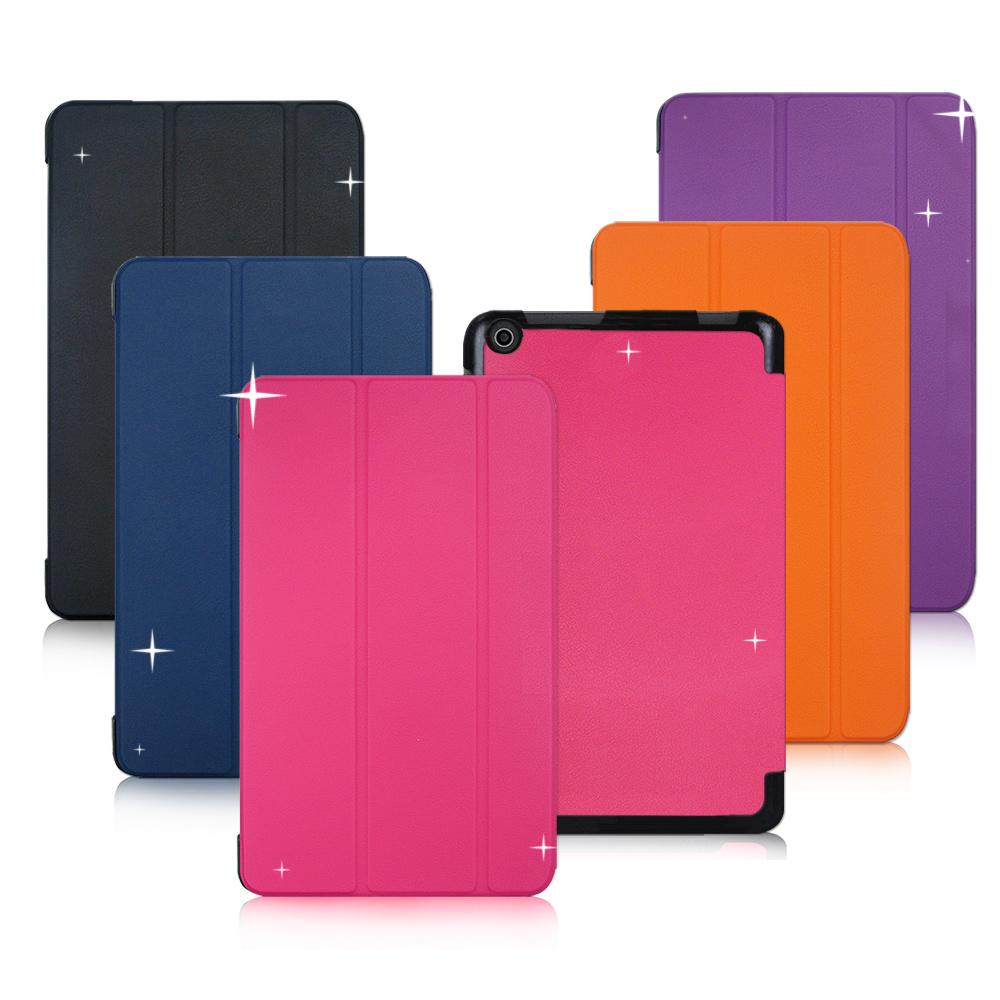 VXTRA ASUS ZenPad 10 Z301MF / Z301M / Z301ML 經典皮紋超薄三折保護套