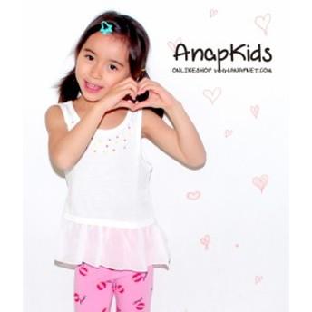 【60%OFF】【在庫処分 セール】ネオンストーン&バックロゴチュニック【ANAP KIDS アナップキッズ キッズ トップス キッズ女の子 子供服