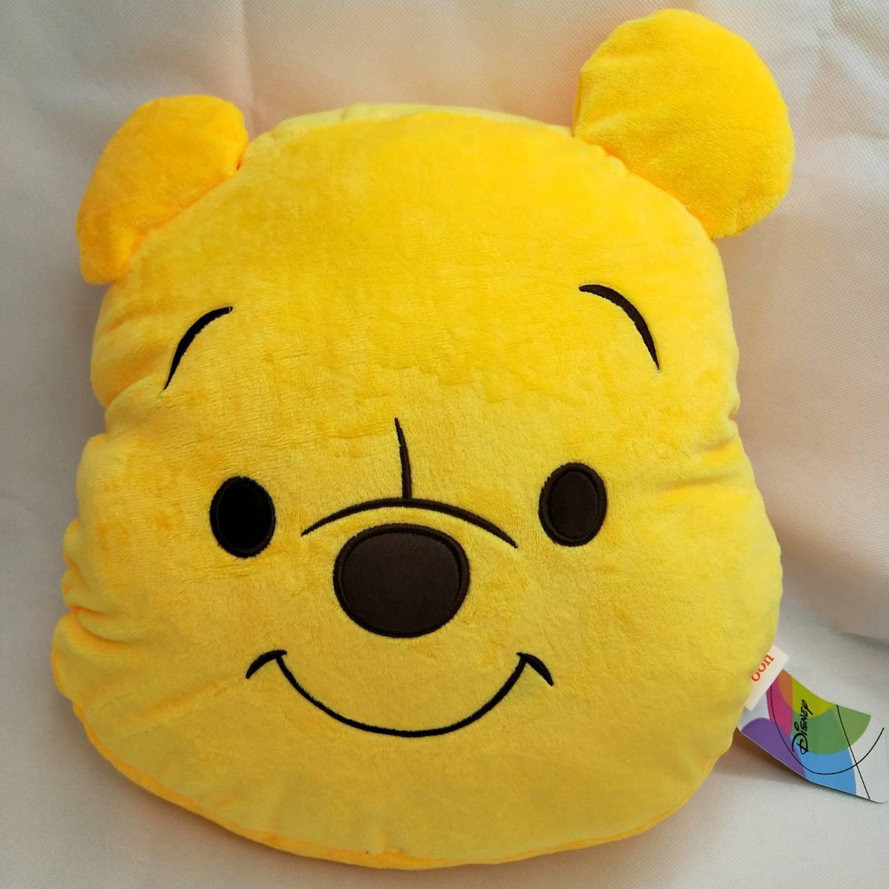 大賀屋 正版 維尼 暖手 枕頭 抱枕 娃娃 頸枕 擺飾 靠枕 暖手枕 迪士尼 維尼熊 午安枕 T00120465