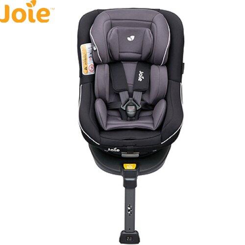 【限量送汽座涼墊】英國 Joie Spin 360 isofix 0-4歲全方位汽座(黑)