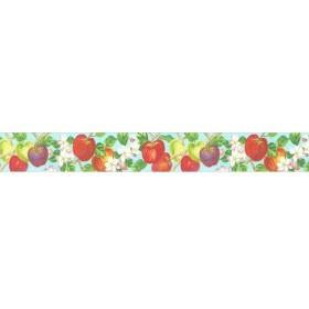 【1巻】林檎 TR-0038 (幅15mm×10m巻) マスキングテープ カミイソ 可愛い 業務用 SAIEN 作家シリーズ 1巻入
