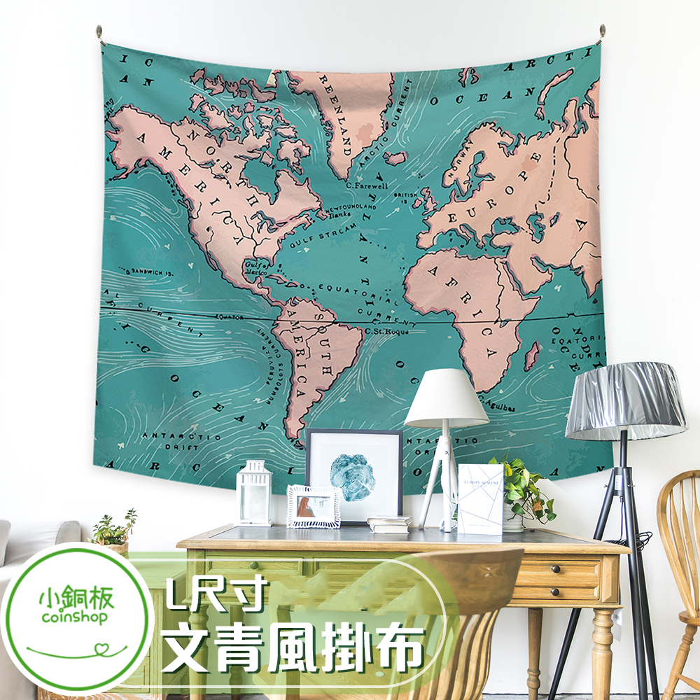 小銅板北歐風掛布掛毯掛畫 寬200*高150 多款式可選