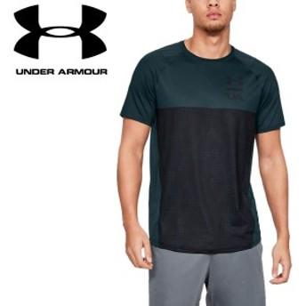 クリアランスセール30%OFF!【2点までメール便送料無料】アンダーアーマー Tシャツ UA MK-1カラーブロック 1327250 メンズ 19SS