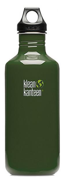 ├登山樂┤ 美國 Klean Kanteen 彩色不繡鋼瓶 40oz / 1182ml # K40CPPL  Forest Green/森林綠