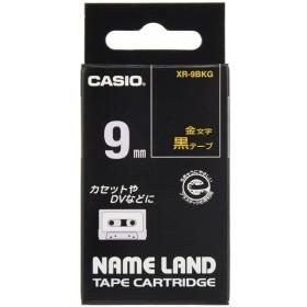 カシオ ネームランドテープ XR-9BKG