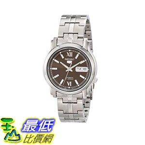 [美國直購] Seiko Men's 男士手錶 SNKK79 Automatic Stainless Steel Watch