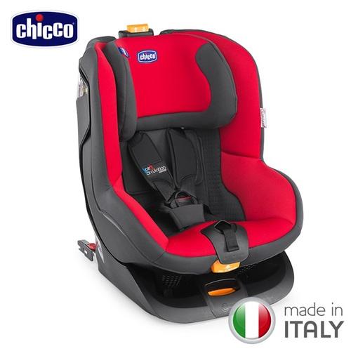【贈寶寶後視鏡】chicco-Oasys 1 Isofix安全汽座-糖心紅