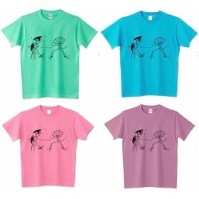 ★7色選べる★オリジナルキャラクター親子Tシャツ★ミュージシャン
