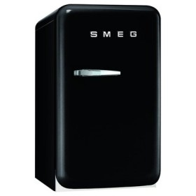 SMEG(スメッグ) 1ドア冷蔵庫)42L/右開き ブラック FAB5URNE