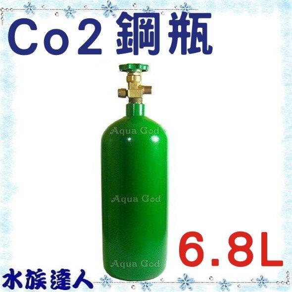 【水族達人】《CO2鋼瓶6.8L》犧牲價$1450!