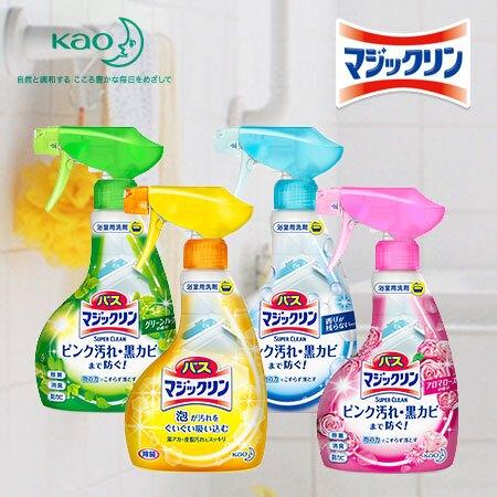日本 Kao 花王 Magiclean 浴室泡沫清潔劑 380ml 清潔 除菌 消臭 魔術靈【N100998】