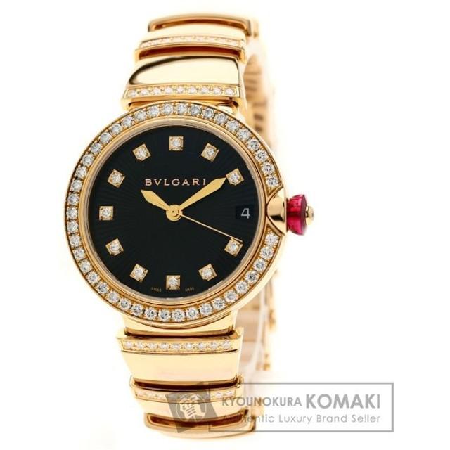 san francisco a6694 0c217 BVLGARI ブルガリ LUP33WGDGP ルチェア ダイヤモンド 腕時計 K18 ...
