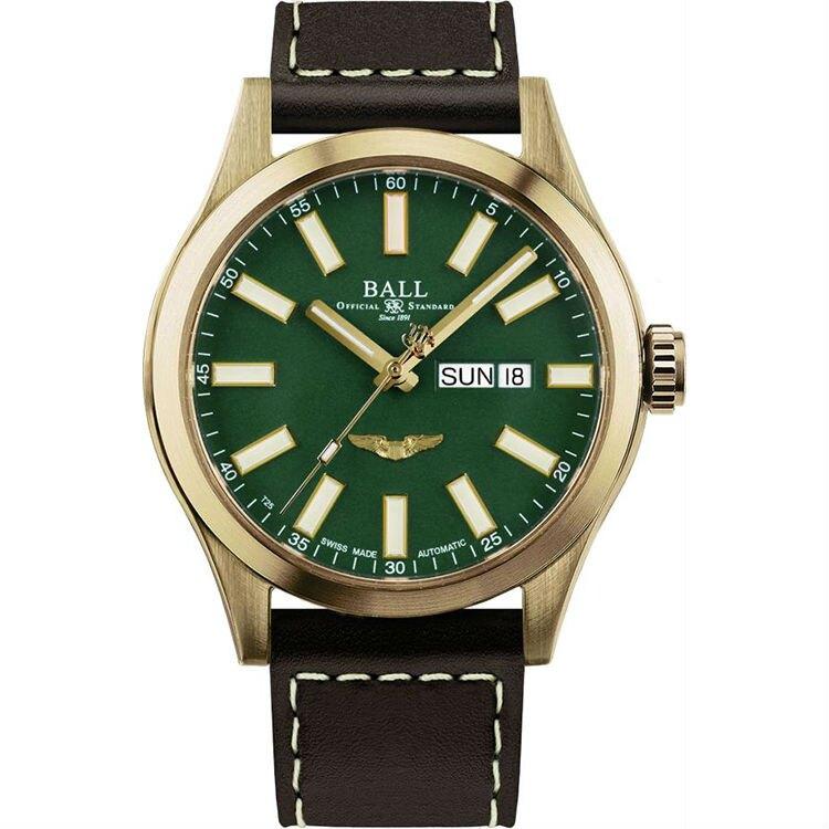 BALL 波爾錶 NM2186C-L4J-GR Engineer III 系列 Marvelight Bronze Star機械腕錶/綠面 43mm