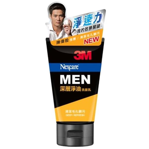 3M Nexcare MEN 男性深層淨油洗面乳100g