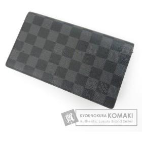 ルイヴィトン LOUIS VUITTON   ポルトフォイユ・コロンブス N63116 長財布(小銭入れあり) ダミエキャンバス メンズ  中古