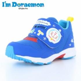 ≪セール≫ サンリオ アイムドラえもん I'm Doraemon 子供靴 キッズシューズ DRM C007 ブルー キャラクター キッズカジュアルシューズ