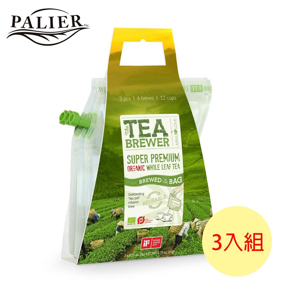 【PALIER】Tea Brewer 丹麥有隨身茶飲3入/組(洋甘菊茶、莓果茶、日式煎茶)