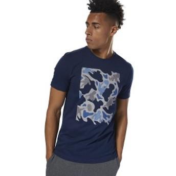 【セール】 リーボック メンズスポーツウェア 半袖機能Tシャツ GS カモグラフィック ショートスリーブTシャツ EYZ44 DH3792 メンズ ...