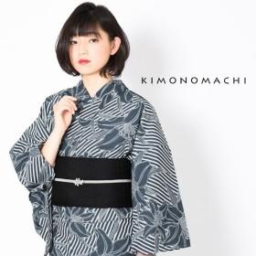 KIMONOMACHI 浴衣単品 百合 レディース