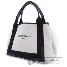 BALENCIAGA【バレンシアガ】 ロゴデザイン トートバッグ キャンバス レディース 【中古】