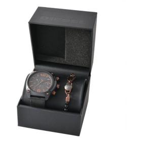 ディーゼル DIESEL DZ4462 オーバーフロー メンズ クロノグラフ 腕時計 ブレスレット セット ポイント消化
