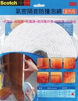 3M 6602 氣密隔音防撞泡棉(室內用) / 包