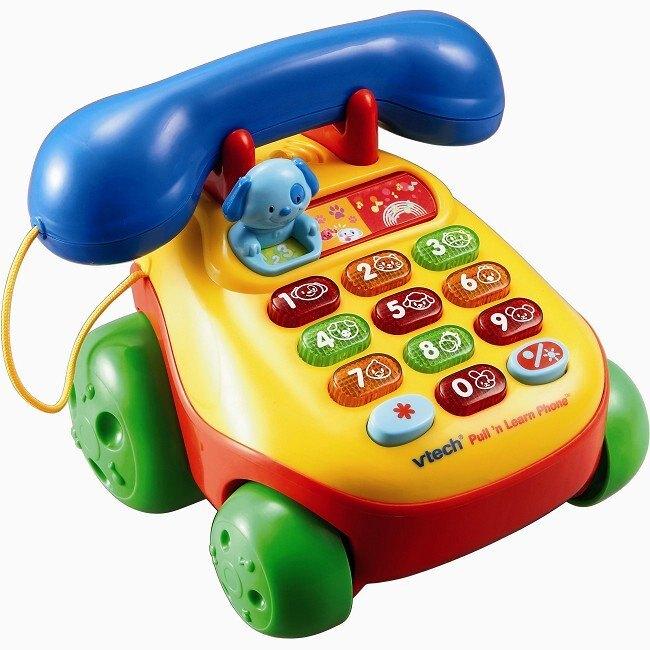 美國 Vtech 歡樂寶寶學習電話