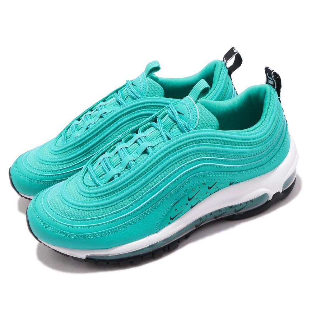 NIKE 休閒鞋 Air Max 97 LX 運動 女鞋 經典 氣墊 避震 反光 球鞋 穿搭 藍綠  黑 [AR7621-300]