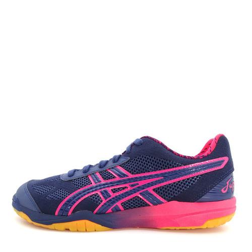 Asics Rote Japan Lyte AWC [1053A001-400] 男 鞋 運動 排球 羽球 桌球  深藍  粉紅