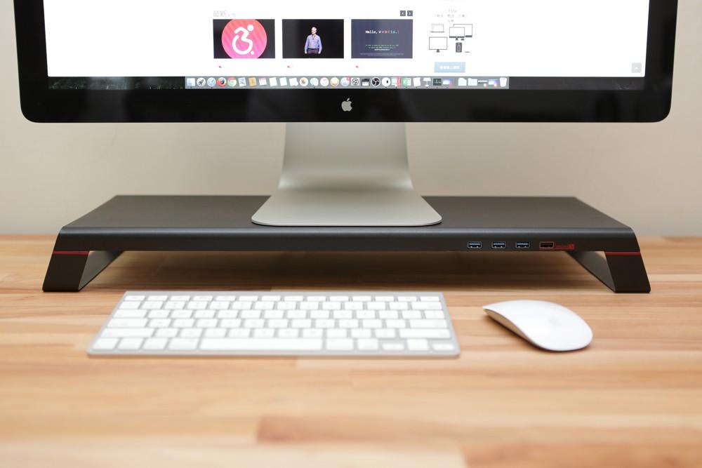 monitormate minis 多功能螢幕架 usb 3.0+充電底座