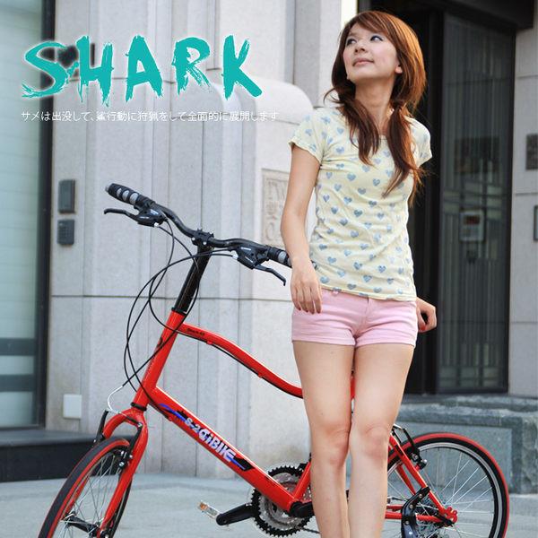 ishow網 aibike shimano 20吋21速 鯊魚小徑車 二代進階款 小徑車