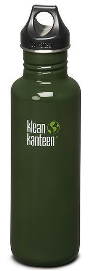 ├登山樂┤ 美國 Klean Kanteen 彩色不鏽鋼瓶 27oz / 800ml # K27PPL  Forest Green/森林綠