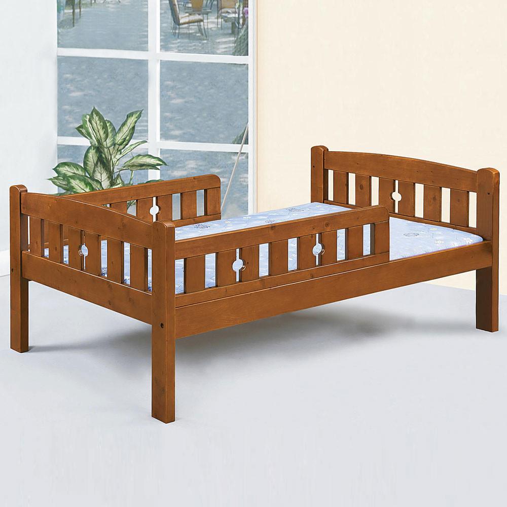 yostyle 佐柏護欄床架組-單人3.5尺(不含床墊)