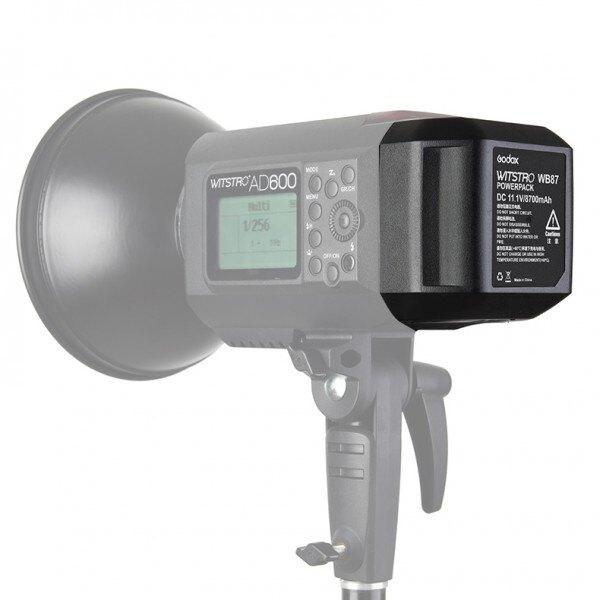 ◎相機專家◎ Godox 神牛 AD600-WB87 AD600系列 WB87 外拍燈 專用鋰電池 備用電池 開年公司貨