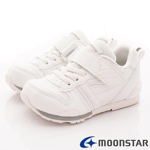 日本Carrot機能童鞋-純白運動款-C2121PL1白-(15cm-21cm)